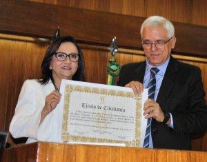 Juíza Maria Célia Lima Lúcio recebe Título de Cidadania Piauiense