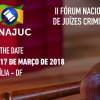 FONAJUC realiza segundo encontro de 15 a 17 de março