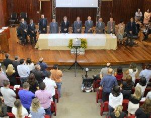 """Corregedoria realiza encontro que debate """"Gestão das Unidades Judiciárias"""""""