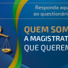 """Magistrado piauiense, participe da pesquisa """"Quem somos. A magistratura que queremos"""""""