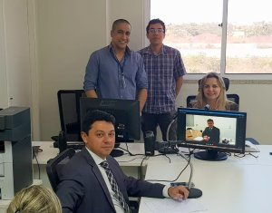 Primeira Audiência Cível por videoconferência é realizada em Parnaíba