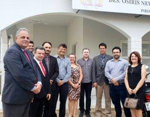 Amapi acompanha visitas da Corregedoria a comarcas do interior