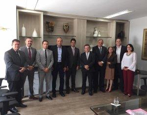 Amapi faz visita de cortesia ao corregedor-geral da Justiça do Piauí