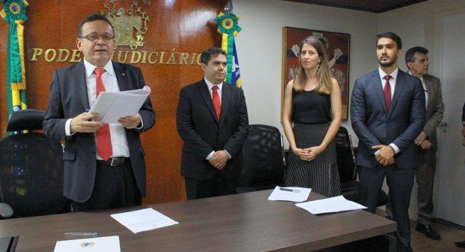 Dois novos magistrados são empossados pelo TJ-PI