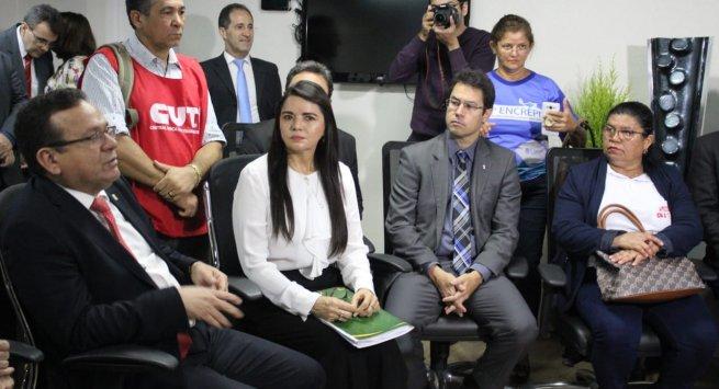 Ato Público mobiliza servidores contra urgência para votação do projeto de Reforma da Previdência
