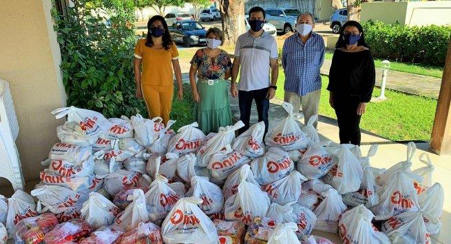 Magistrados do Piauí distribuem mais de 48 toneladas de alimentos e itens de higiene para famílias atingidas pela pandemia