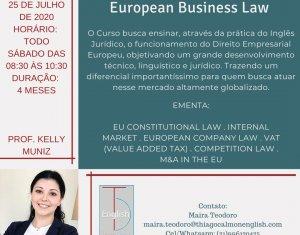 Inscrições abertas para 2ª edição do curso de inglês jurídico