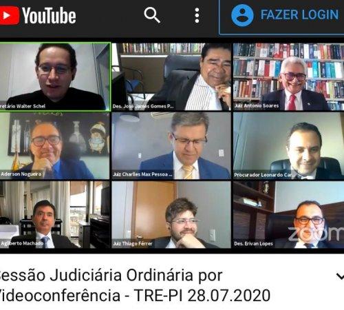 Juiz Antônio Soares finaliza mandato como membro do TRE-PI