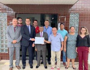 Comarca de Monsenhor Gil recebe certificado 100% Digital da Corregedoria Geral de Justiça