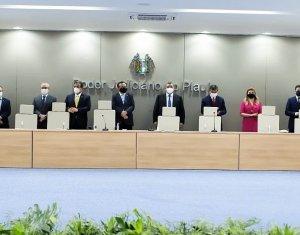 Amapi acompanha inauguração da nova sede do TJPI