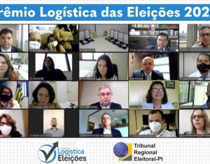 Magistrados e servidores recebem Prêmio Logística das Eleições 2020 do TRE-PI