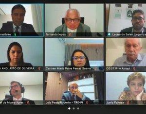 CGJ-PI e Amapi: trabalho conjunto para o avanço da Justiça de primeiro grau