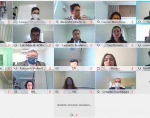 Magistrados dos polos de Campo Maior e Parnaíba participam de reunião virtual com Corregedoria