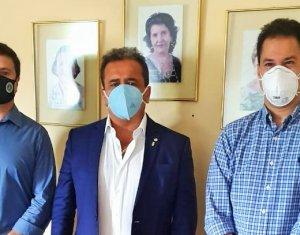 Amapi defende pautas da Magistratura estadual em reunião com deputado Henrique Pires