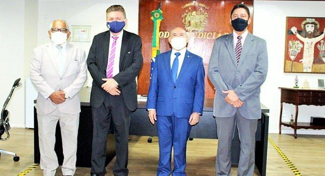 TJ-PI vai auxiliar MP-PI na implantação do 'Balcão Virtual' e 'Juízo 100% Digital'
