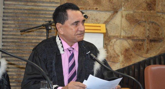 Des. Brandão faz discurso em homenagem aos 130 anos do TJPI